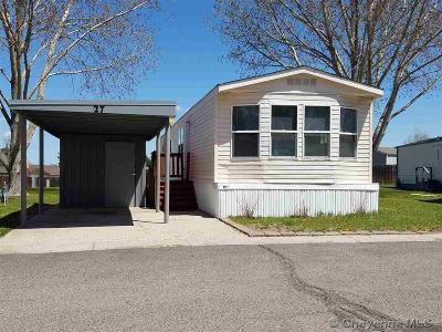 Cheyenne Mobile Home For Sale: 609 E Prosser Rd #27