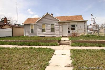 Cheyenne Single Family Home For Sale: 308 E 8th St