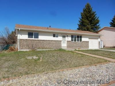 Cheyenne Single Family Home For Sale: 4408 Flaming Gorge Ave