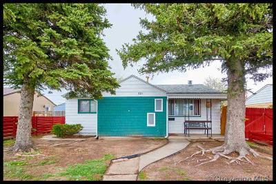 Cheyenne Single Family Home For Sale: 321 Arp Ave