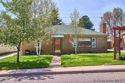 Cheyenne Single Family Home For Sale: 3710 McComb Ave