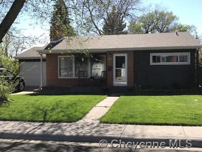 Cheyenne Single Family Home For Sale: 3474 Foxcroft Rd