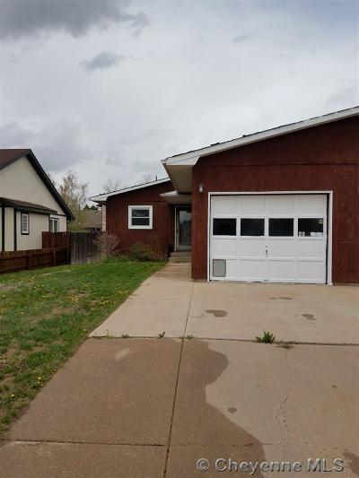 Laramie Condo/Townhouse For Sale: 4413 Comanche Dr