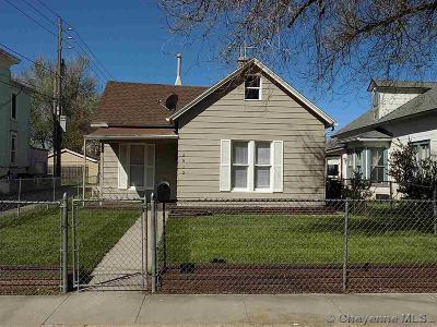 Cheyenne WY Single Family Home Temp Active: $175,000