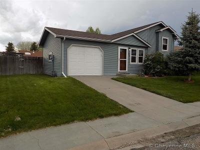 Cheyenne Single Family Home Temp Active: 2400 Pine Ave