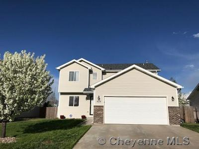 Cheyenne WY Single Family Home For Sale: $259,000