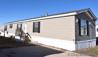 Cheyenne Mobile Home For Sale: 3400 S Greeley Hwy #194