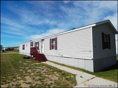 Cheyenne Mobile Home For Sale: 605 Little Valley Trl