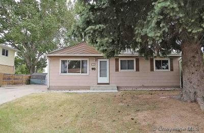 Cheyenne WY Single Family Home Temp Active: $204,000