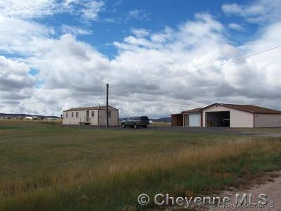 Cheyenne WY Single Family Home Temp Active: $130,000