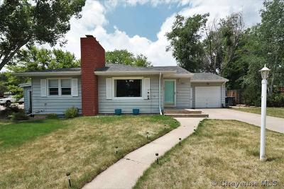 Cheyenne WY Single Family Home For Sale: $269,900