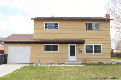 Cheyenne WY Single Family Home For Sale: $195,000