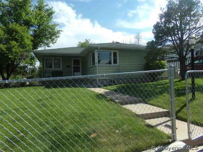 Cheyenne WY Single Family Home For Sale: $213,500