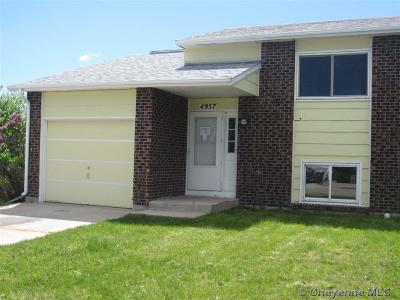 Cheyenne Condo/Townhouse For Sale: 4957 Atlantic Dr