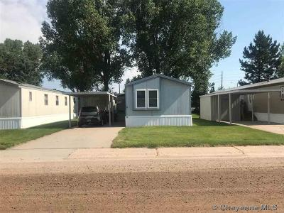 Cheyenne Mobile Home For Sale: 1314 W 18th St #2