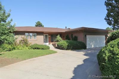 Cheyenne WY Single Family Home For Sale: $379,900