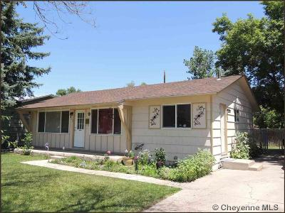 Cheyenne WY Single Family Home Temp Active: $168,000