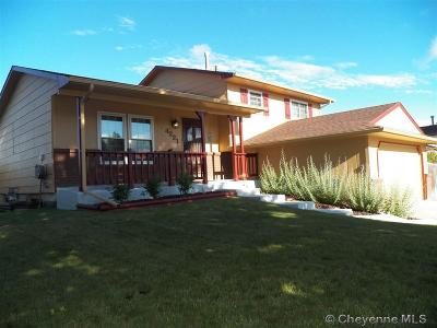 Cheyenne WY Single Family Home Temp Active: $250,000