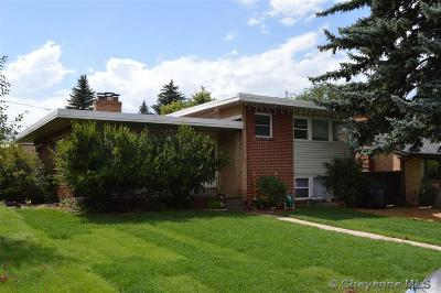 Cheyenne WY Single Family Home Temp Active: $245,000