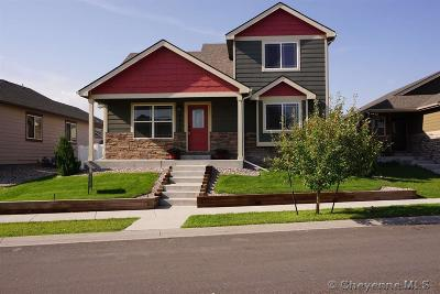 Cheyenne WY Single Family Home Temp Active: $237,000