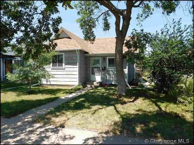 Cheyenne WY Single Family Home Temp Active: $120,000