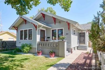 Cheyenne WY Single Family Home For Sale: $219,900