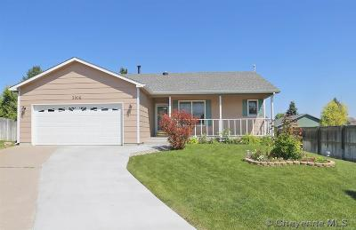Cheyenne WY Single Family Home For Sale: $296,000