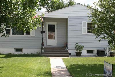 Cheyenne WY Single Family Home For Sale: $236,000