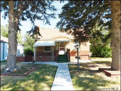 Cheyenne WY Single Family Home For Sale: $235,000