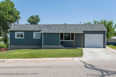 Cheyenne WY Single Family Home For Sale: $230,000
