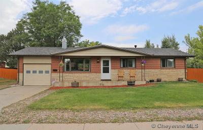 Cheyenne WY Single Family Home For Sale: $225,000