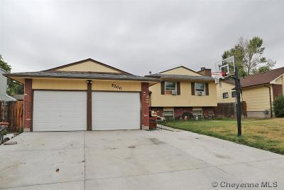 Cheyenne WY Single Family Home For Sale: $285,000