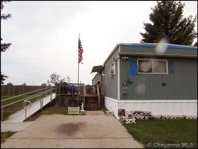 Cheyenne Mobile Home For Sale: 415 Rachel Rd