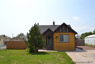 Cheyenne Single Family Home For Sale: 609 E Jefferson Rd