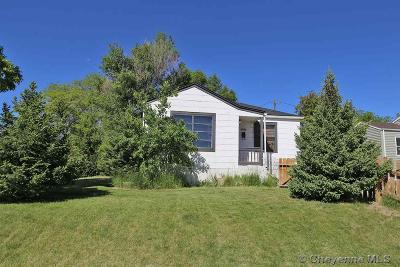 Cheyenne Single Family Home Temp Active: 1704 Rollins Ave
