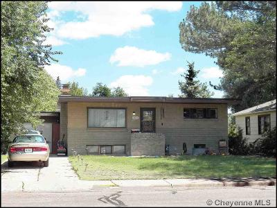Cheyenne Single Family Home Contingency: 3621 Reed Ave