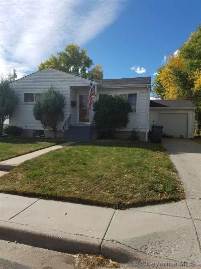 Cheyenne Single Family Home For Sale: 1622 Goshen Ave
