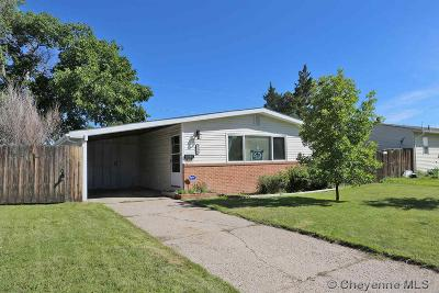 Cheyenne WY Single Family Home Temp Active: $202,900