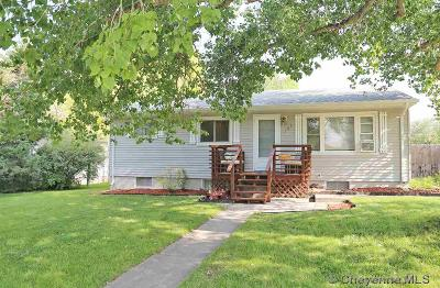 Cheyenne WY Single Family Home Temp Active: $229,900