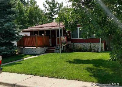Cheyenne WY Single Family Home Temp Active: $214,900