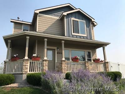 Cheyenne WY Single Family Home For Sale: $348,500