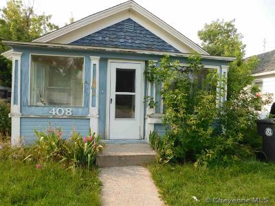 Cheyenne WY Single Family Home Temp Active: $125,000