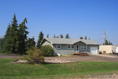 Cheyenne WY Single Family Home Temp Active: $215,000
