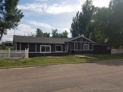 Laramie Single Family Home For Sale: 468 W Park Ave