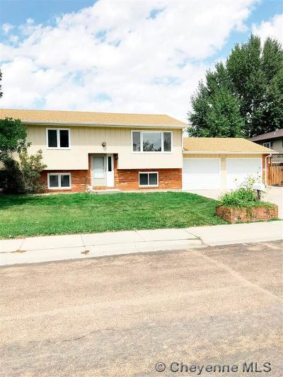 Laramie Single Family Home For Sale: 1721 Arnold St