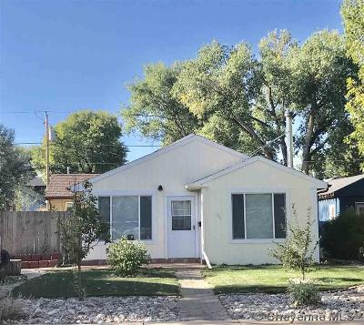 Laramie Single Family Home For Sale: 908 Canby St