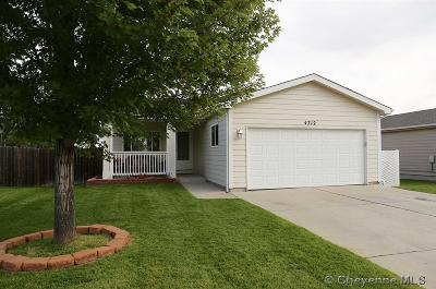 Cheyenne WY Single Family Home Temp Active: $282,950