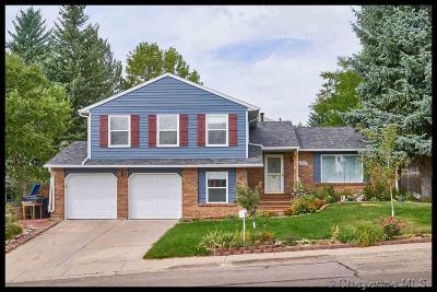 Cheyenne WY Single Family Home Temp Active: $290,000