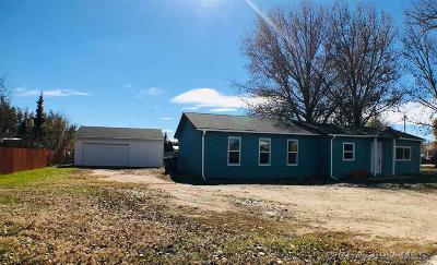 Cheyenne Single Family Home For Sale: 4013 Rock Springs St