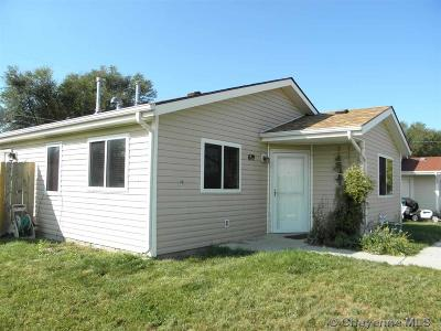 Cheyenne WY Single Family Home For Sale: $165,000